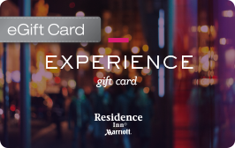 Hotel GiftCards and Hotel eGiftCards from Marriott hotels